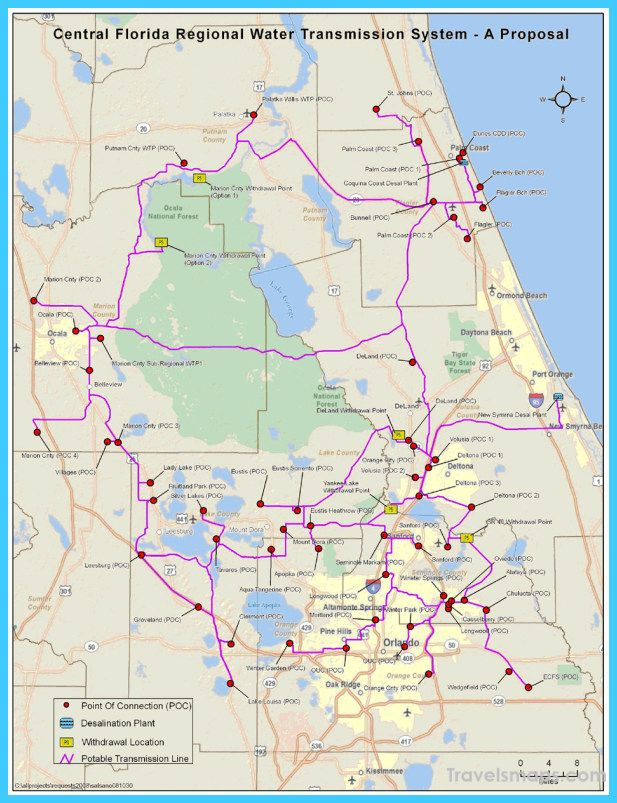 Awesome Map Of Jacksonville Florida Map Of Florida
