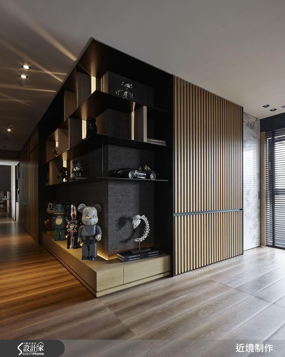 53 坪的住宅空間 設計師給予公領域開放規劃 透過線條的沉穩