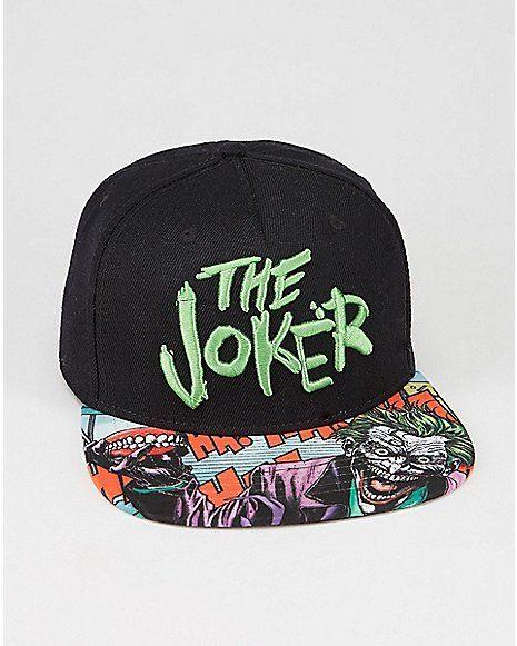 2b01216ee5946 DC Comics Forever Evil Joker Snapback Hat - Spencer s