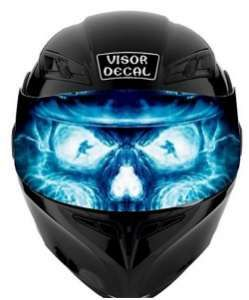 Motorcycle Helmet Visor Decals Visors Helmets And Motorcycle Helmet - Vinyl decals for motorcycle helmets