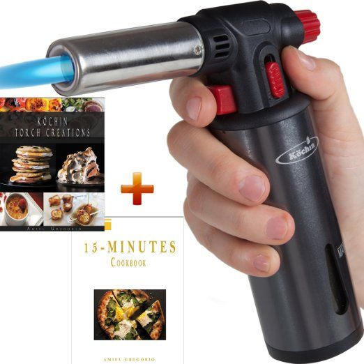 Great Culinary Torch Lighter, Kitchen Creme Brulee Cooking, Professional Chef Food  Blow Torch, Butane