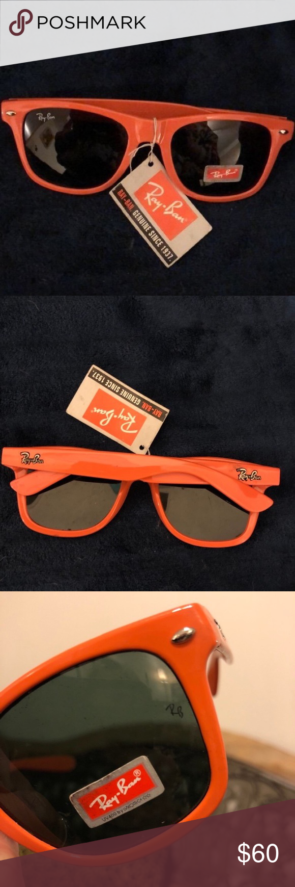 2bb752ffce Ray-Ban LEI PENG Sunglasses - orange NWT Ray Ban LEI PENG  Sunglasses-Authentic - never worn - this is a steal Brand  Ray Ban  Condition  New Ray-Ban Other