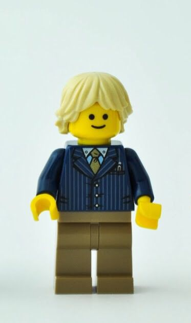 Lego Tan Minifig Hair Tousled and Layered NEW