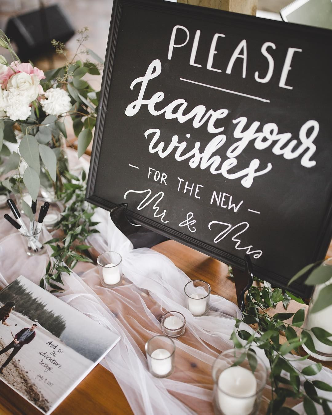 Wedding signs welcome table guest signin table wedding