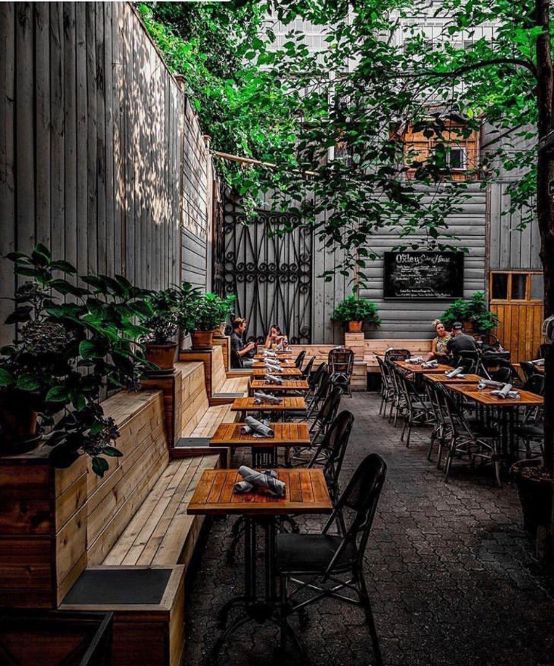 The Oxley 121 Yorkville Avenue Toronto Abhishekdekate Blogto Outdoor Restaurant Patio Bar Design Restaurant Bistro Design