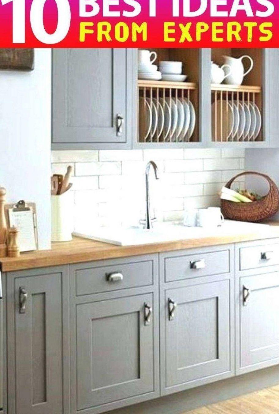 9 Cute Light Gray Chalk Paint Kitchen Cabinets ...