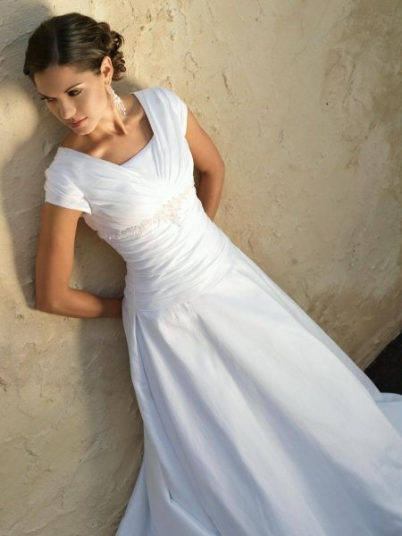 Beautifully Modest Wedding Dresses