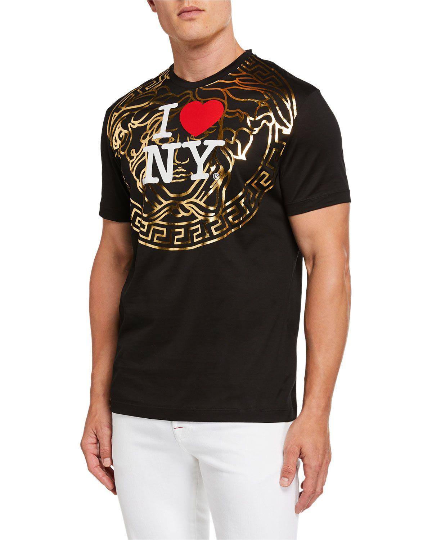 Men S I Heart Ny Medusa Graphic T Shirt In 2020