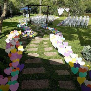 Decoração de Casamento Simples e Barato: 64 fotos, ideias, como fazer - Artesanato Passo a Passo!