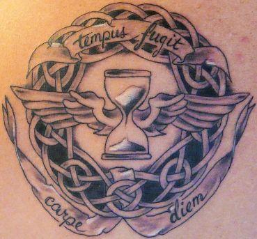 Tempus Fugit Tattoo