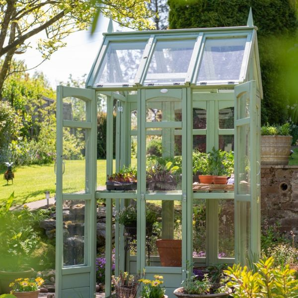 Hartwood Victorian Walk Around Greenhouse With Auto Vent Backyard Greenhouse Victorian Greenhouses Greenhouse