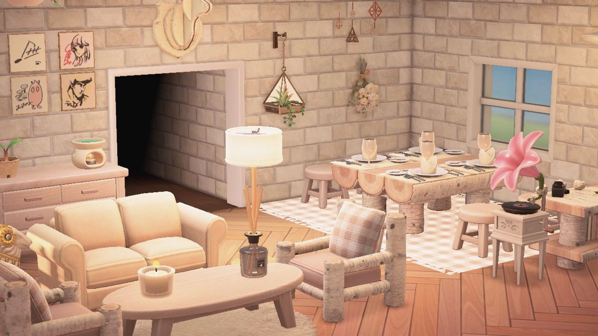 Cottagecore Living Room Aesthetic In 2020 House Interior Animal Crossing Interior