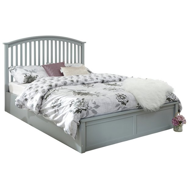 Buy Gfw Madrid Ottoman Double Bed Frame Grey At Argos Thousands Of Products For Same Day Delivery 3 95 Or Fast Grey Bed Frame Ottoman Bed Double Bed Frame