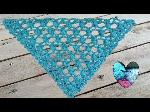 Precioso Chal Tejido A Crochet Facil De Tejer X2f Châle Au Crochet Facil Youtube Crochet Crochet Stitches Tutorial Crochet Tutorial