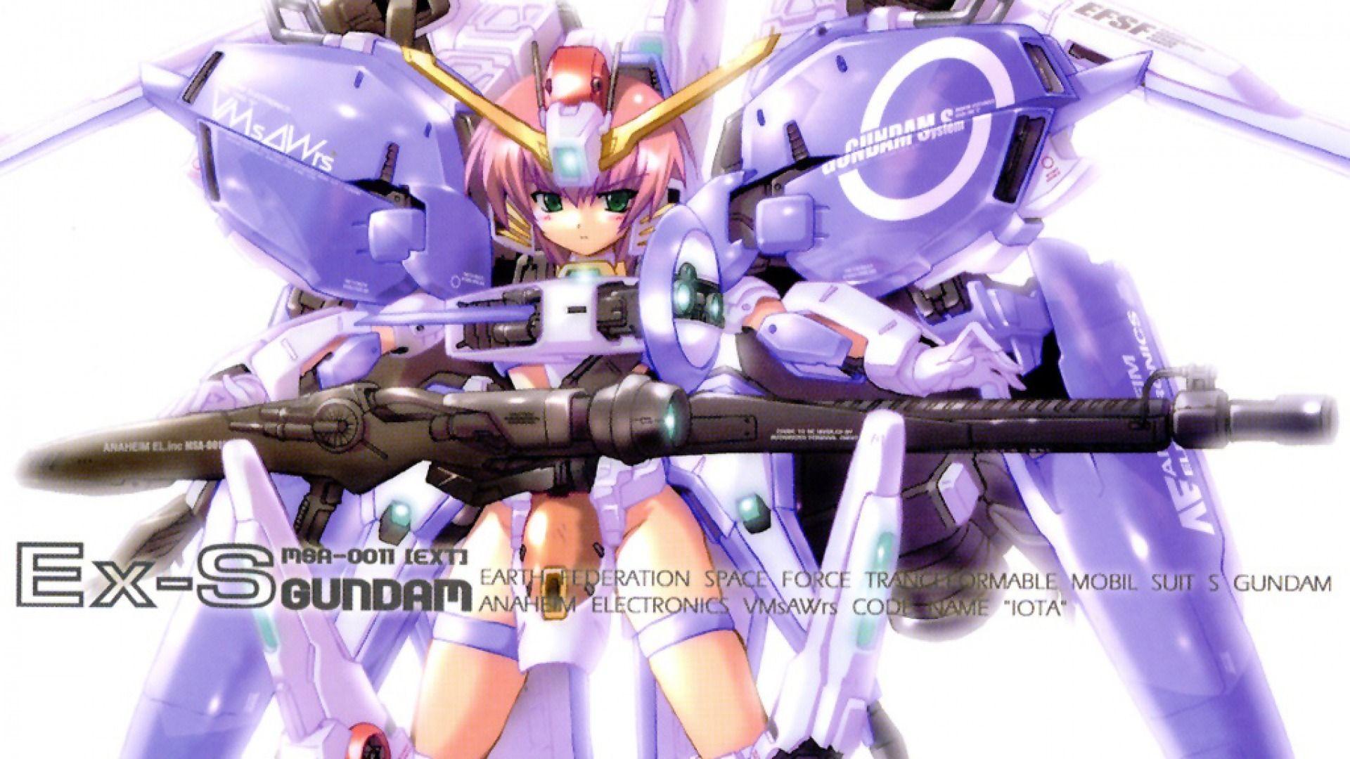 Ex S Gundam Moe Gundam Wallpapers Gundam Custom Gundam