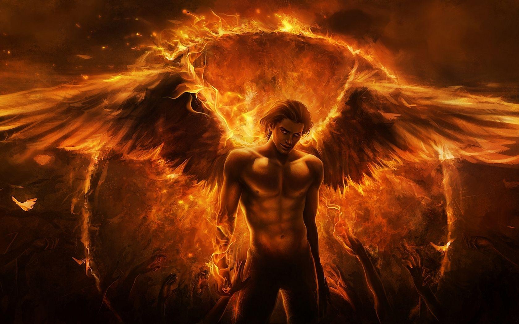 Evil Wallpaper Dark Horror Fantasy Angels Fire Evil Demon Satan Occult Wallpaper Angel Wallpaper Angel Art Angel Fire