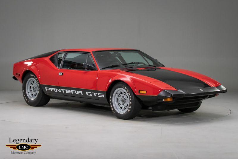 1974 De Tomaso Pantera Gts De Tomaso Pantera Pantera De Tomaso
