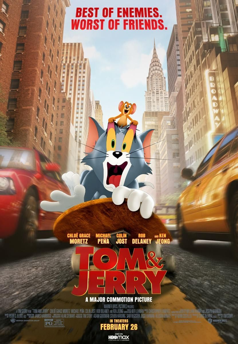 Descargar Tom Y Jerry La Pelicula 2021 Latino Mega En Hd In 2021 Tom And Jerry Movies Tom And Jerry Best Of Enemies