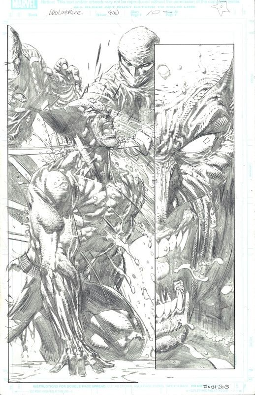 David Finch Comics | Wolverine #900 p.10 by David Finch, in David ...
