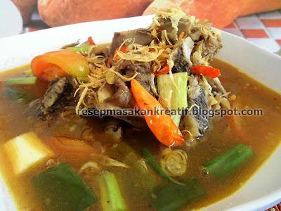 Resep Pindang Tulang Palembang Asam Pedas Masakan Indonesia Resep Masakan Resep Masakan Indonesia
