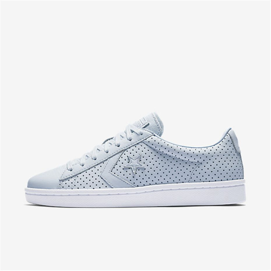 732c19bf1fd NIKE Converse Pro Leather Botanical Gardens Low Top (Porpoise ...