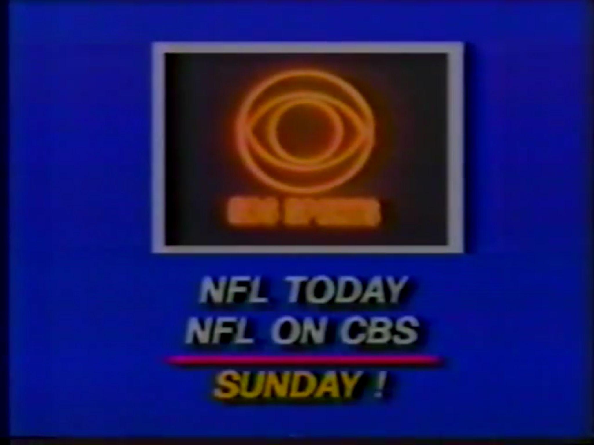 CBS Sports NFL promo, 1970s Nfl on cbs, Cbs sports, Nfl