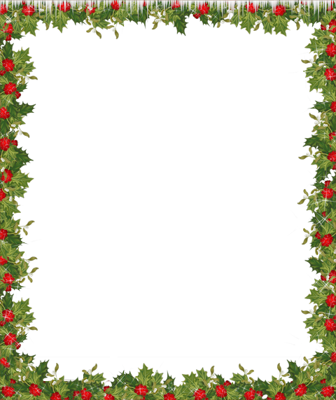 Holiday Transparent Frame | frames & borders | Pinterest ...