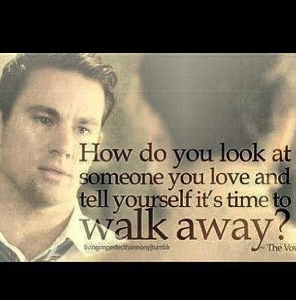 The Vow... Channing Tatum is just too much | Vows quotes ...