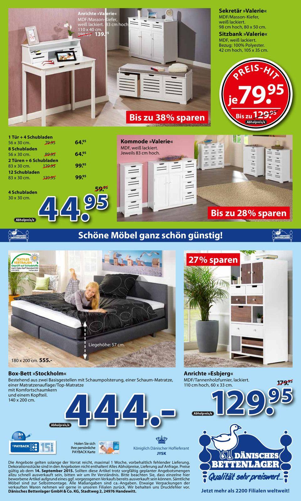 Aktueller porta Möbel Prospekt, Wohnmagazin und Katalog von Porta ...