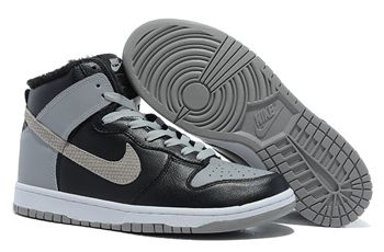 save off 76c23 21414 ... where can i buy nike sb dunk high black wolf grey basketball shoes mens  grey womens