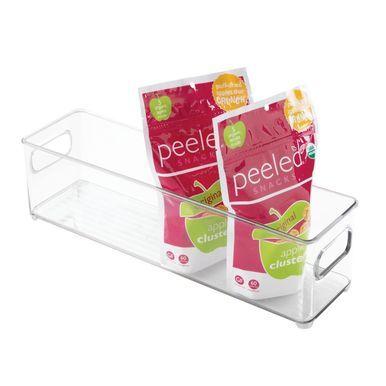 Small - Plastic Kitchen Pantry / Food Storage Bin #kitchenpantrycabinets