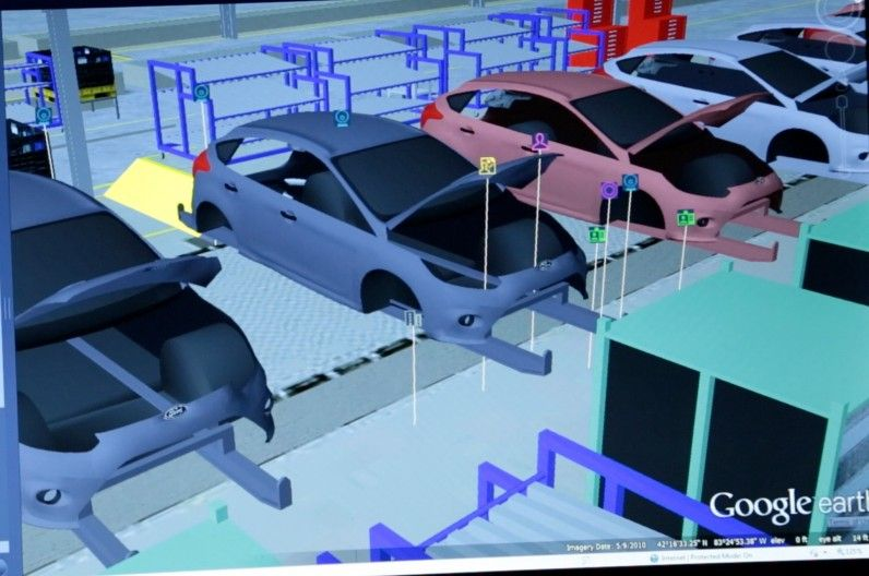 Ford Testing Google Earth Like Software For Manufacturing Manufacturing Media Center Ford Motor Company