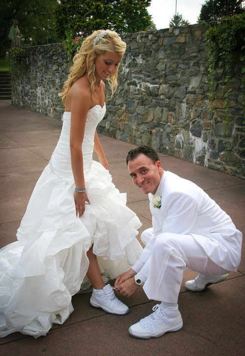 Jordan Themed Wedding Wedding Sneakers Wedding Dresses Wedding