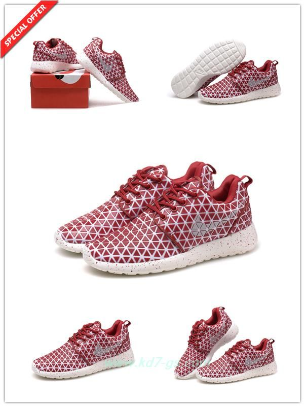 on sale 82256 c1845 Where Can I Find 607284-001 Wine Red-WhiteWhite Nike Roshe Run Metric  Womens
