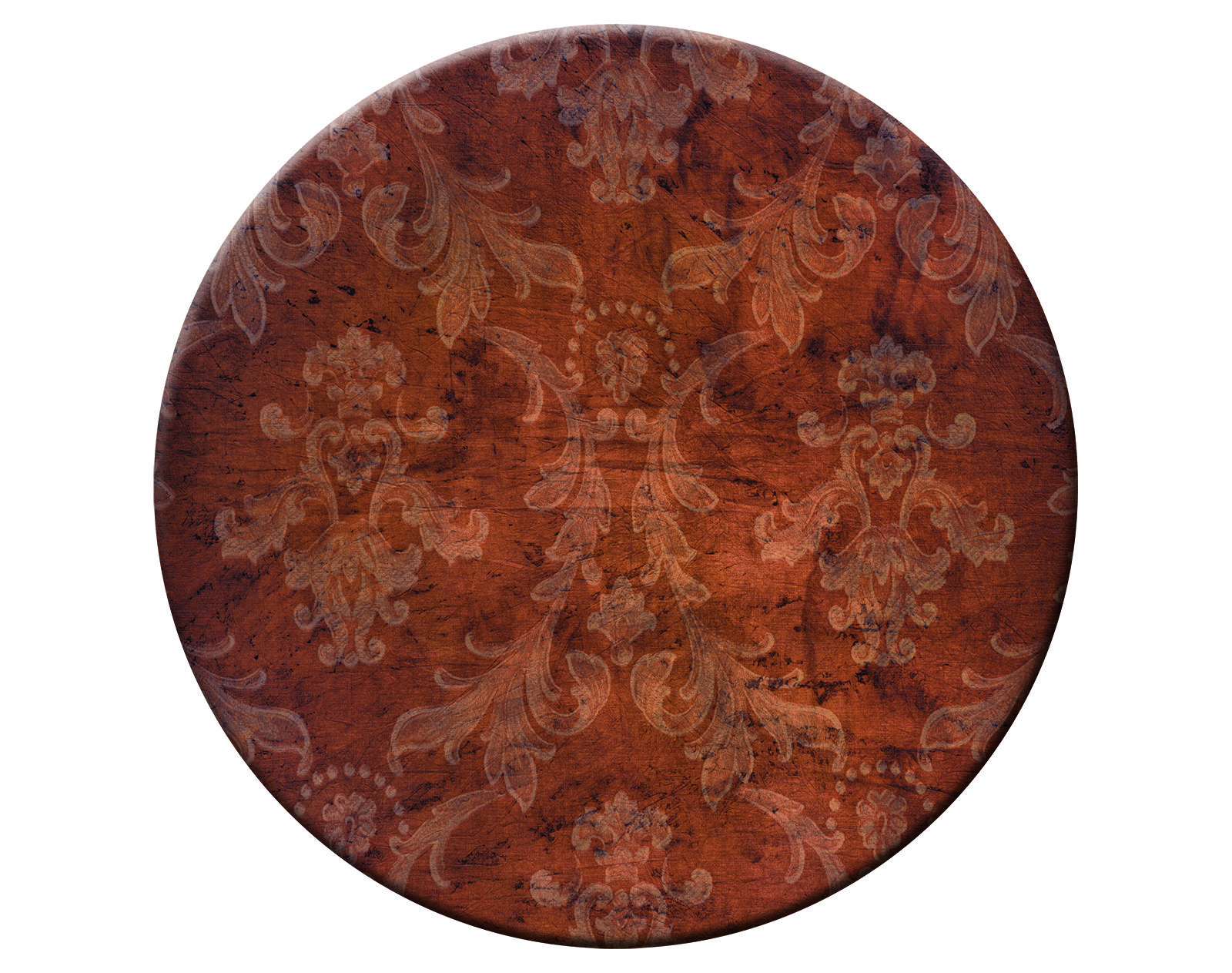 Faux Bois Round Placemats Are Hardboard Cork Backed Hard Placemats Modern Durable Heat Resistance Easy Clean Design Placemats Faux Bois Wooden Backdrops