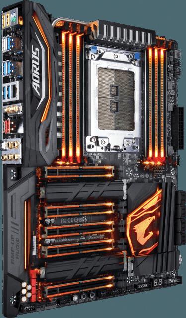 Informatica Sin Limites Gigabyte X399 Aorus Gaming 7 Gamingcomputerdiy Custom Computer Computer Setup Gaming Computer Setup