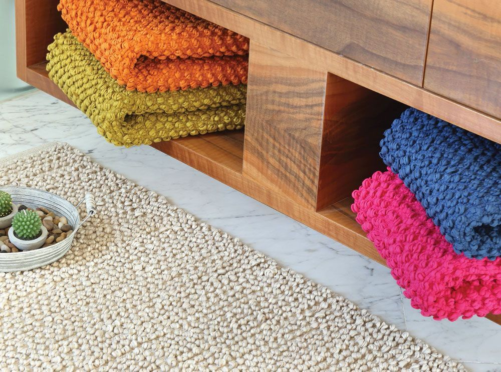 Sometimes small things have a huge impact Bath mats also one of