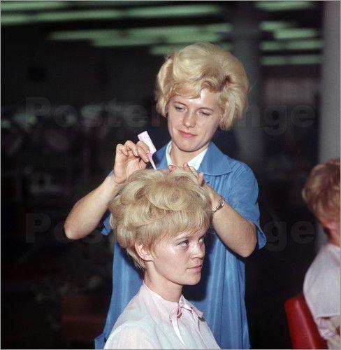 Poster Ddr Friseursalon Fur Frauen 1969 Salon Friseur