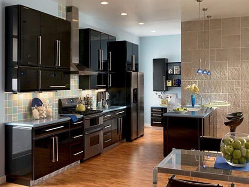Ordinary Modern Kitchen Paint Ideas Part - 4: Paint Color For Modern Kitchen Cabinets Inspiring Kitchen Cabinets Paint  Colors Photos For Modern Kitchen Design