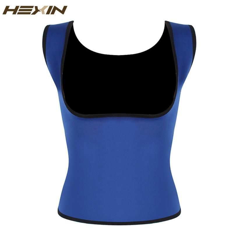 c01a9fe91e7 Plus Size Neoprene Sweat Sauna Hot Body Shapers Vest Waist Trainer Slimming  Vest Shapewear