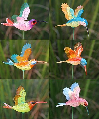Amazing Whimsical GARDENS | Windy Wings Garden Stakes, WindyWings Whimsical Garden  Stakes .