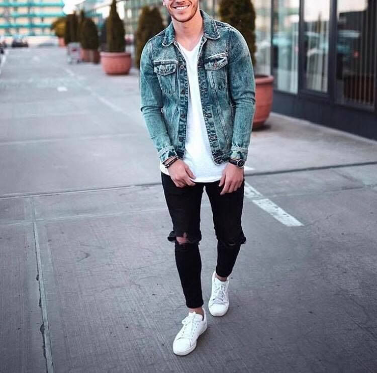 16 Awesome Jeans Jacket Outfits Mr Streetwear Magazine Outfits