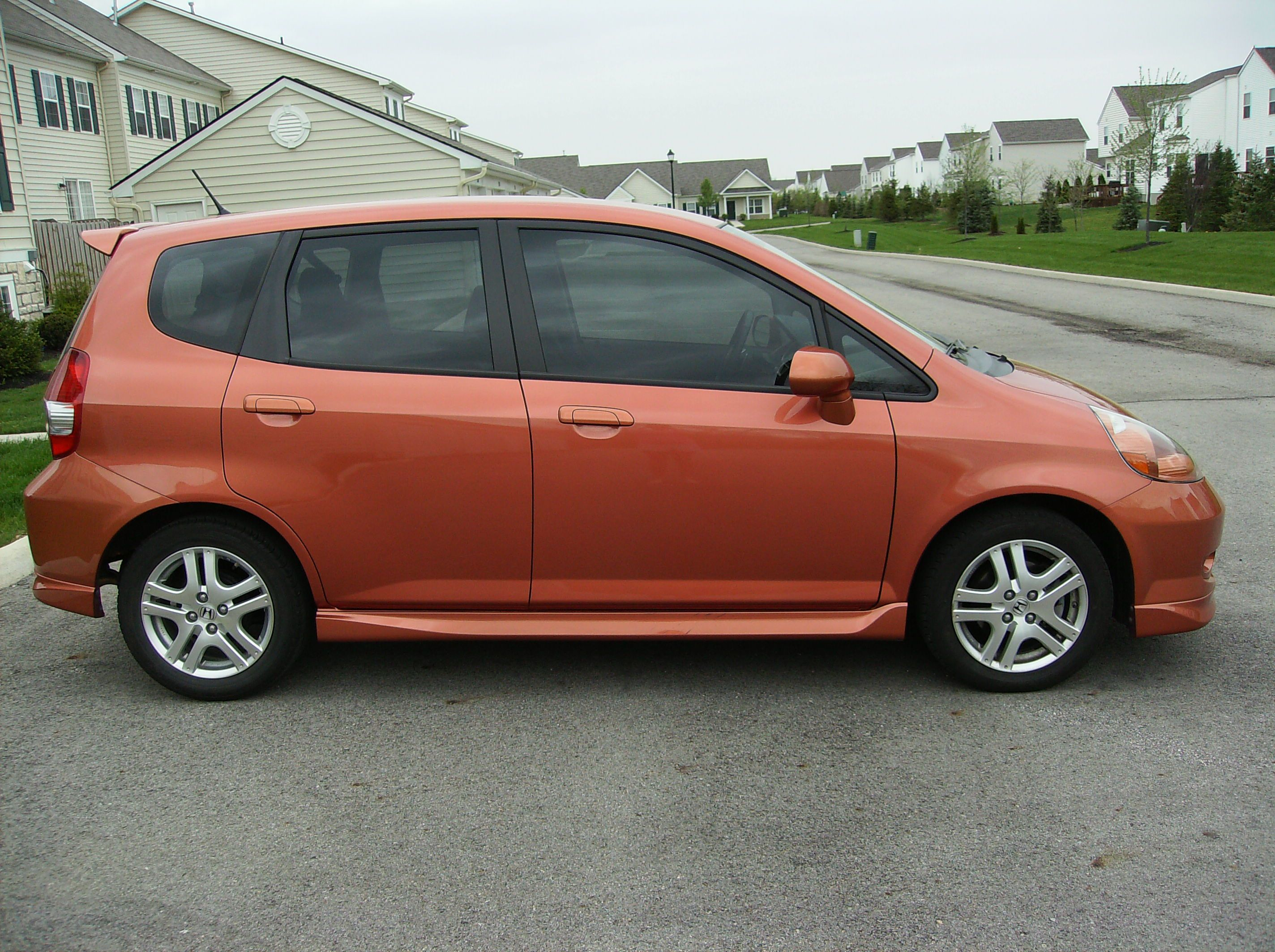 2008 Honda Fit Sport With 35% Tinted Windows