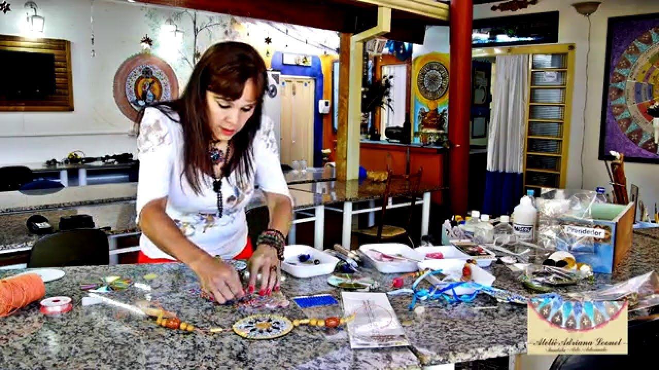ADRIANA LEONEL - ARTE EM RECICLADOS - CIRCULADOR DE ENERGIA (CHI) USANDO...