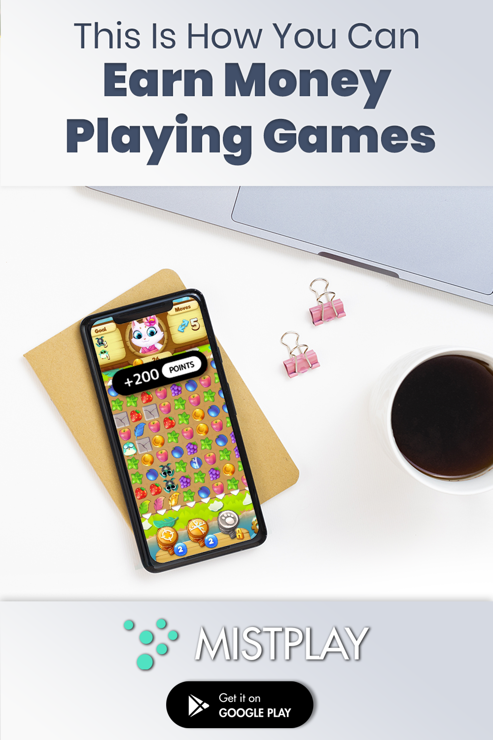 Mistplay is a discovery and reward app where you collect