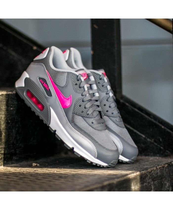 2017 Nike Air Max 90 Grey LD076 739 Trainer UK Simple colors, but very  stylish