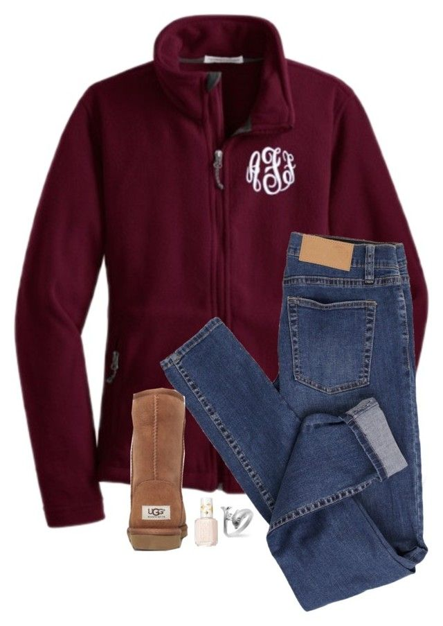 """""""RTD!!!"""" by sweet-n-southern ❤ liked on Polyvore featuring Cheap Monday, Essie and UGG Australia"""