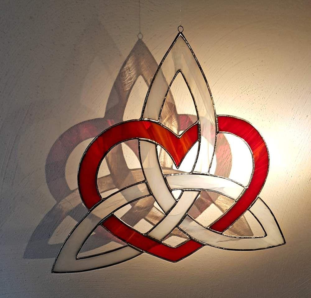 Deko Objekte Keltisches Symbol Der Liebe Und Verbundenheit Ein