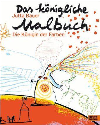 Das königliche Malbuch: Die Königin der Farben: Amazon.de: Jutta ...