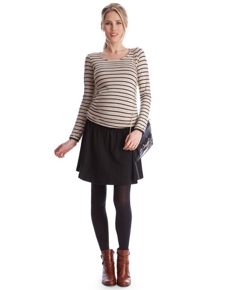 Under bump fit   ruffle waist   Above the knee    The ultimate versatile chic…